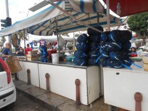 venditore di cozze